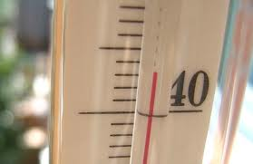 Показания термометра