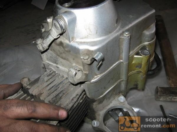 Начинаем ремонт двигателя мопеда Дельта