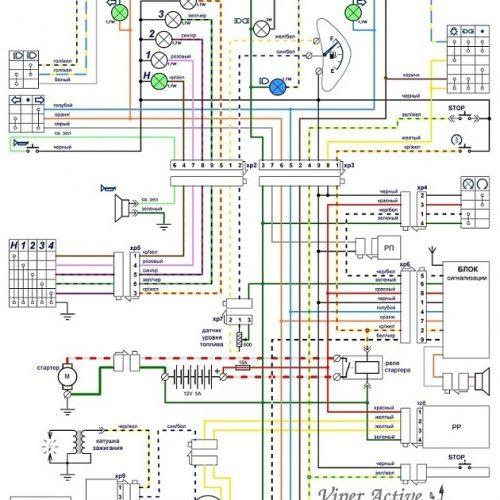 Схема для Viper Active