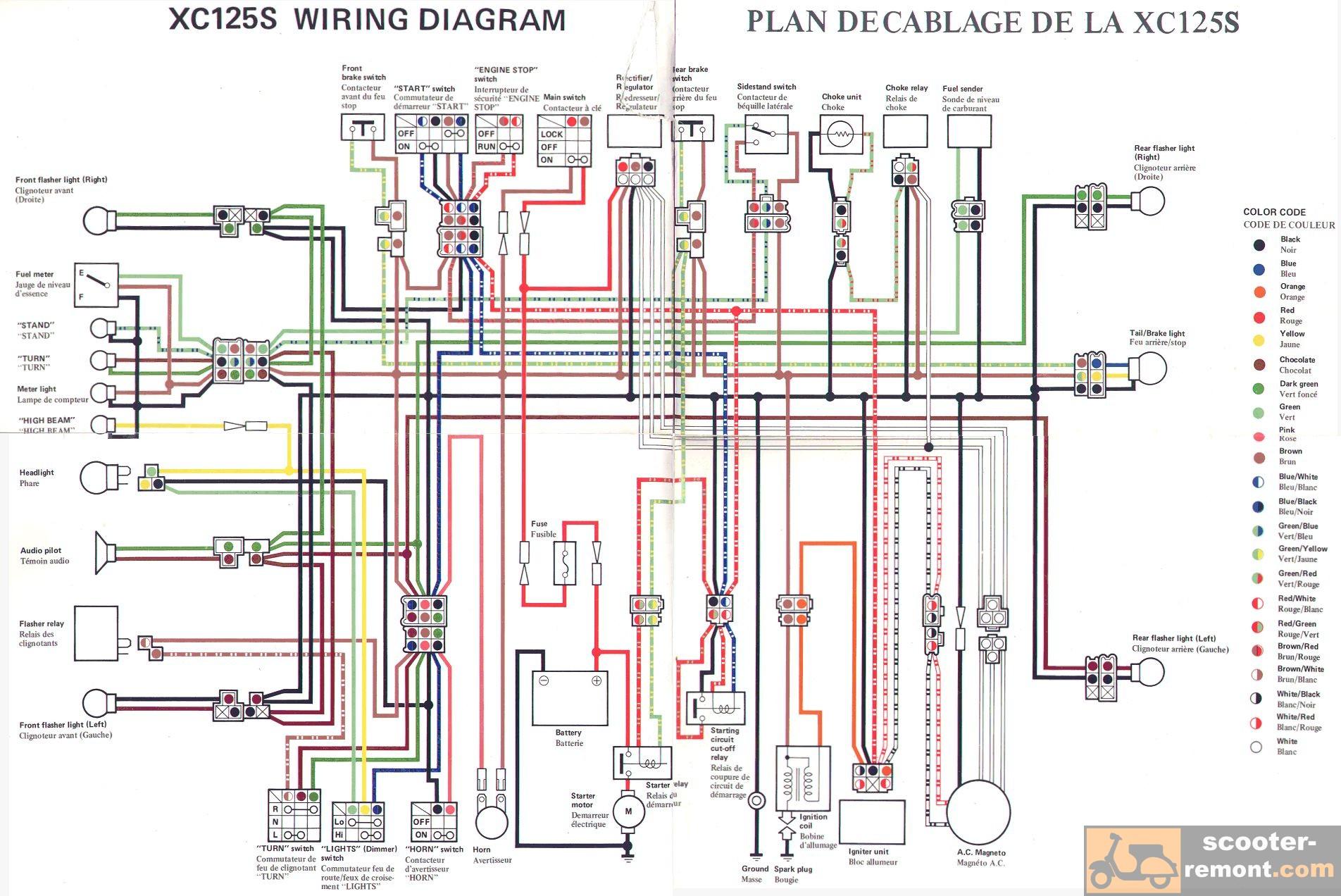 електросхема viper zubr 200