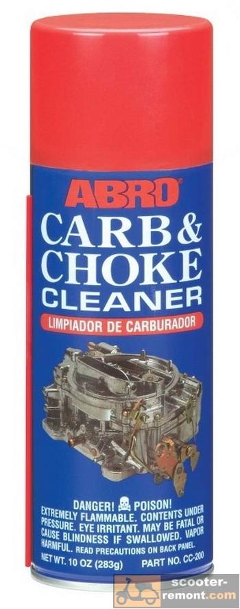 Жидкость для очистки карбюратора