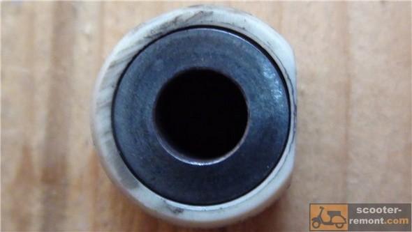 Односторонний износ ролика вариатора