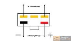 Как проверить регулятор напряжения скутера на исправность — теория и ... 19650cf60727d