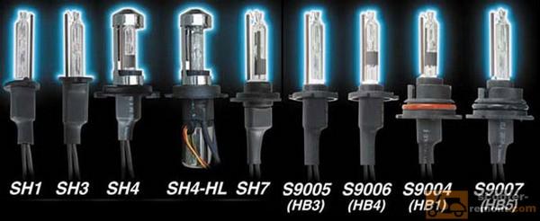 Маркировка ксеноновых ламп