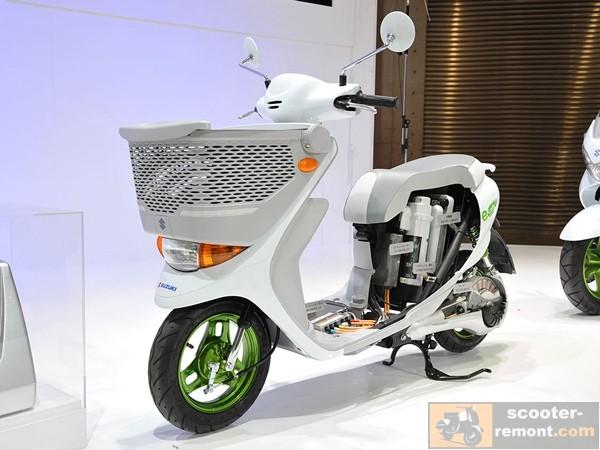 Suzuki E Lets в разрезе на презентации