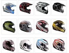 Как выбрать шлем, полный каталог размеров по производителям