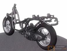 Причины плохой управляемости скутера
