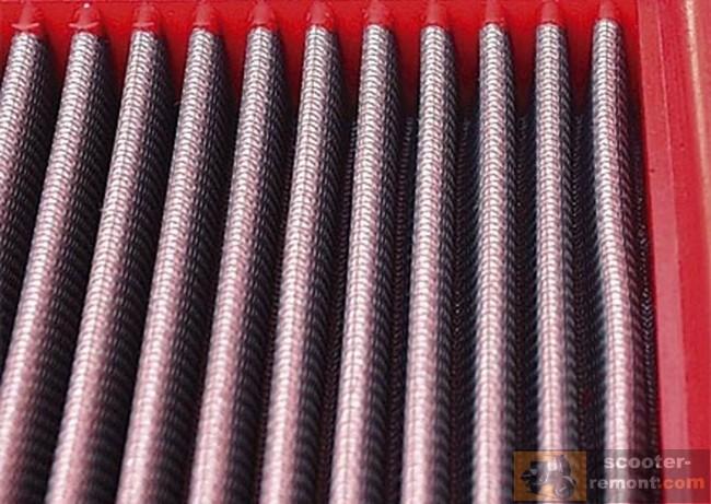 Металлический воздушный фильтр