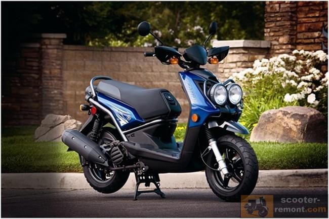 Обновился скутер Yamaha Zuma 125