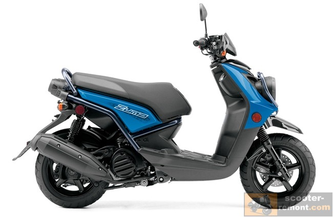 Yamaha Zuma 125 2013 модельного года - вид сбоку