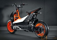 Презентация скутера KTM E-Speed