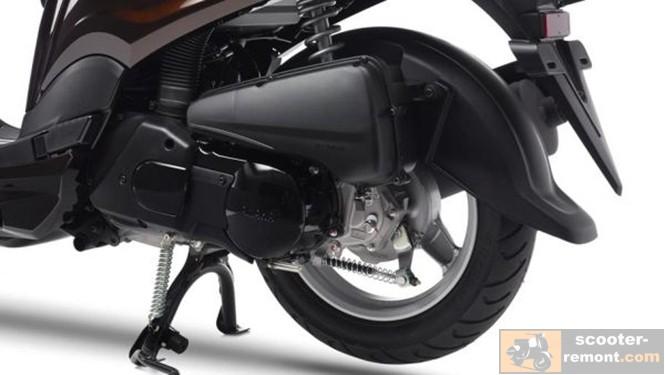 Yamaha D'elight - двигатель