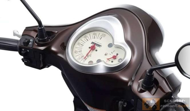Yamaha D'elight - приборная панель