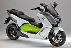 Презентация электроскутера BMW C Еvolution
