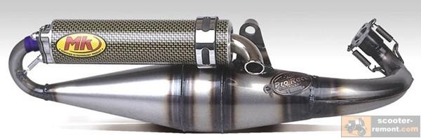 Глушитель Metrakit Pro Race