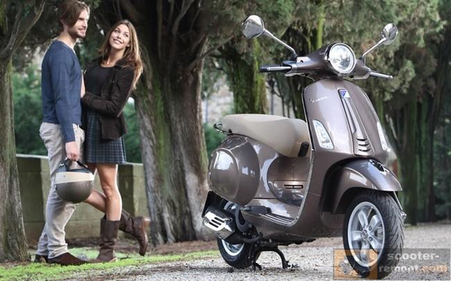 Веспа Примавьера - скутер для двоих