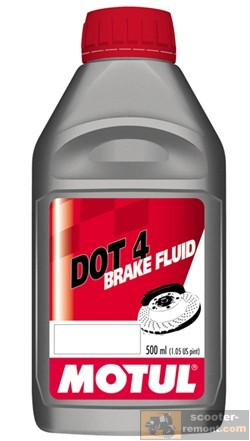 Тормозная жидкость для скутера клаcс Dot 4