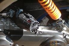 Фильтр нулевого сопротивления для скутера