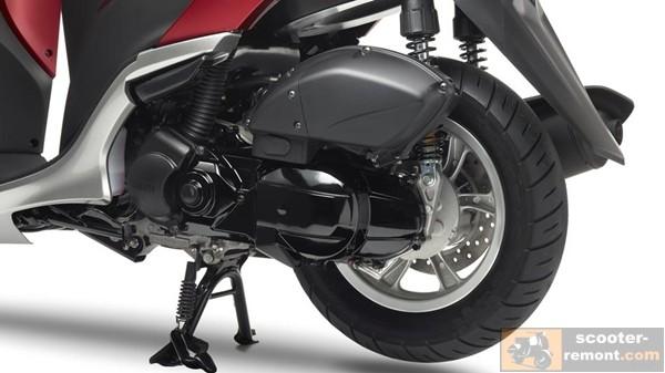 Двигатель Yamaha Tricity 125