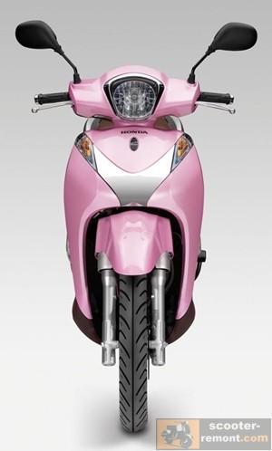 Honda SH 125 Mode вид спереди