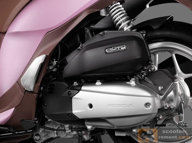 Двигатель Honda SH 125 Mode