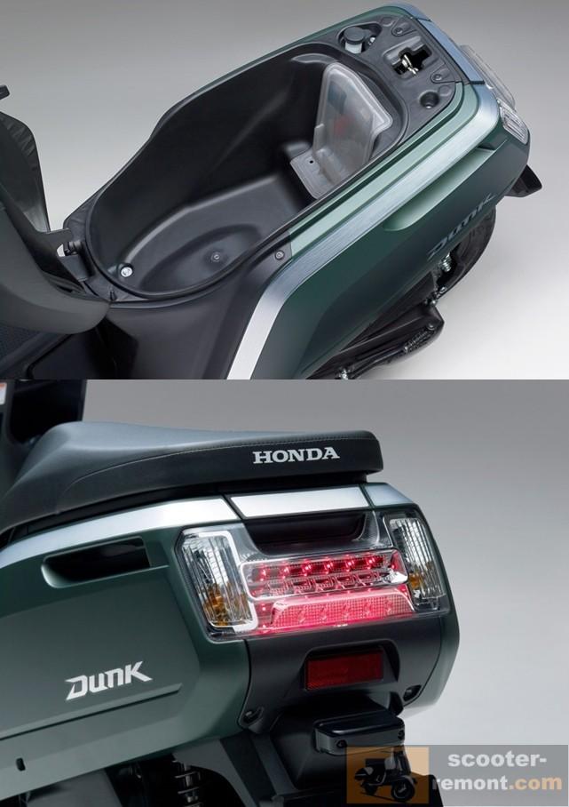 Задняя часть и багажник Хонда Dunk