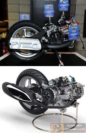 Двигатель BLUE CORE для скутера презентация