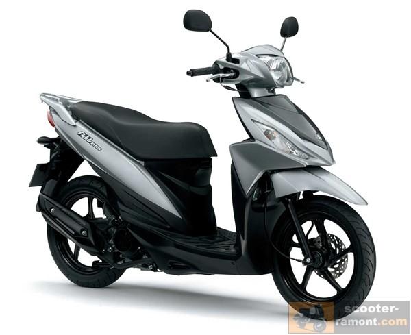 Suzuki Address 110 внешний вид