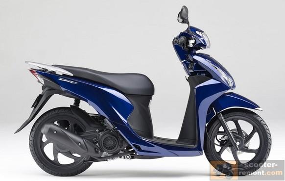 Внешний вид Honda Dio 110 2015