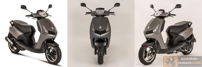 Внешний вид Пежо Vivacity-RS