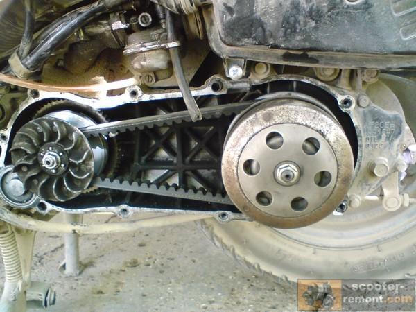 Вариатор и сцепление Honda Lead