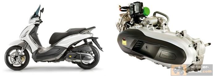 Двигатель скутера Piaggio Beverly 350