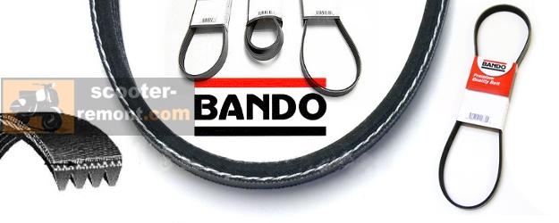 Размеры ремней Бандо
