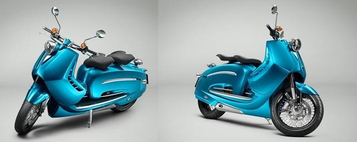 Внешний вид скутера PiperMoto J Series