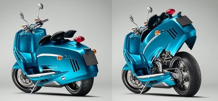 Обвес скутера PiperMoto J Series