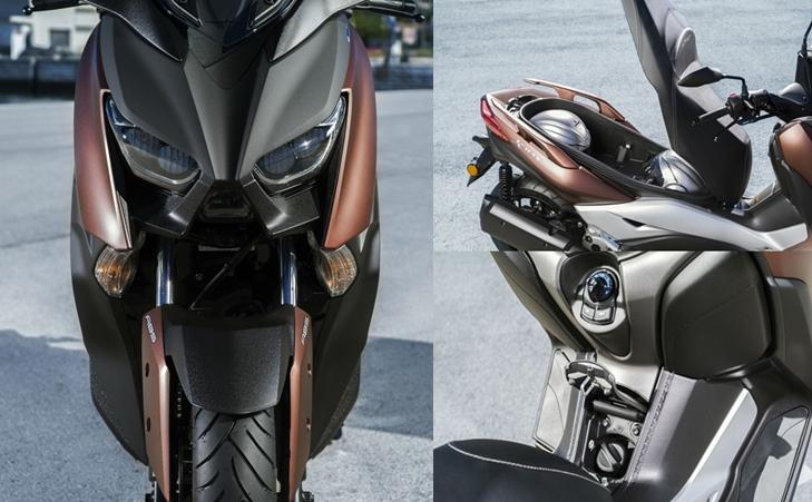 Оптика и багажник Yamaha Xmax 300 2017