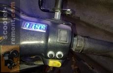 Часы на скутер